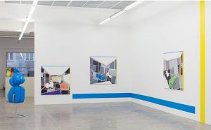 Last Week To visit David Ben White's Exhibition at the Gallery! #davidbenwhite #kerstinengholmgallery #contemporaryart