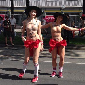 So awesome xD #lassunsdudeln #almdudler #blitzdieflitzer #pride #lgbtq #lgbt #gay #rainbow #viennapride #gayvienna #regenbogenparade #almflitzer
