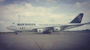 #boeing747 #edforceone747 #edforceone #ironmaiden #thebookofsoulsworldtour ✈😍😍😍 Flughafen Wien - Vienna Airport