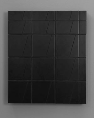 WOLFRAM #simonmullan #nathaliehalgand #2016 #art #tiles Galerie Nathalie Halgand