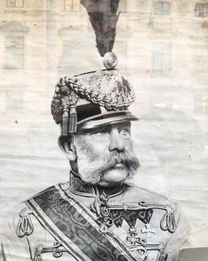 #in a display window#100. Todestag des Kaisers 1830 - 1916#Franz Joseph#österreich# Vienna, Austria