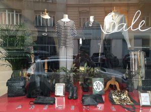 #windowshopping #black & #white #stripes #summersale #pregenzerfashionstore