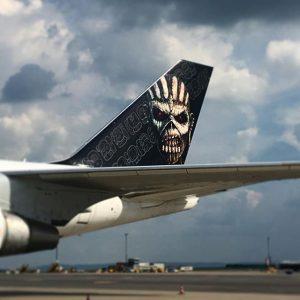 #ironmaiden #edforceone #b747 #jumbojet #boeing747 #viennaairport #vie #vienna #instavienna #igersaustria #hashtag #instalike #instagram Flughafen Wien - Vienna...
