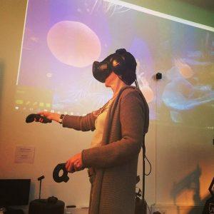 Living the virtual life #vrei #vr #virtualreality #fitandsocial #speakingdigitalfuture ^^so vrei