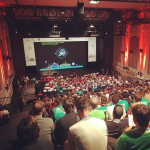 WordCamp Europe - its all about the people #wordpress #vienna #europe #wordcamp #wceu MQ – MuseumsQuartier Wien