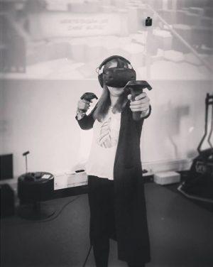 Trying VR by myself #virtualreality #futureisnow #firstperson vrei