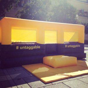 #untaggable #lassdichfallen @audi_aut MQ – MuseumsQuartier Wien