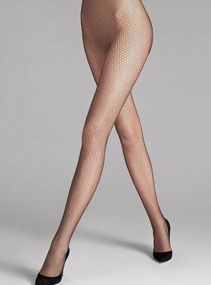 #NetsationTights - Perfect pantyhose for those seductive moments. #wolfordfashion #wolfordtights #luxury #tights #hosiery