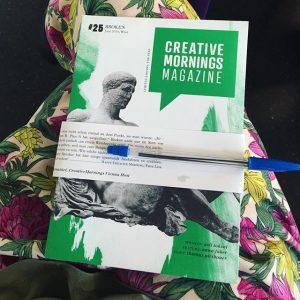 Asil Toksak @ #viecm this morning. #creativemornings #igersvienna #vienna MQ – MuseumsQuartier Wien