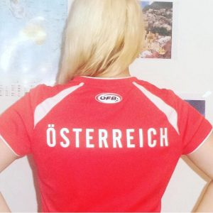 #12mann #austria #igersaustria #österreich #igersvienna #instavienna #vienna_city #ig_vienna #winning #euro2016 #soccer #football #fußball #girl #instablonde #blonde #ragazzabionda...