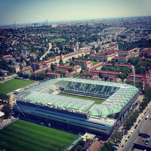 Das schaut schon richtig gut aus, oder? #AllianzStadion (c) Picture by Sony Allianz Stadion