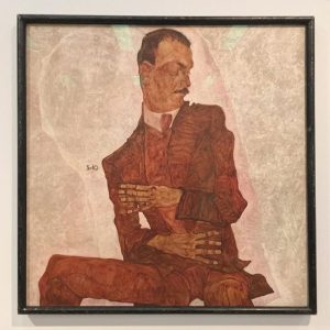 #Today was #EgonSchiele's long ago #birthday in #1890. But love an opportunity to post his #painting