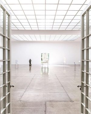 We had the chance to check out the current exhibition at @viennasecession after ...
