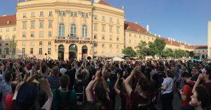 Thank you, Vienna! We had a blast! #wceu MQ – MuseumsQuartier Wien