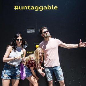 #pushthebutton Spontanes Glück auf Knopfdruck finden Sie am Schwedenplatz (Höhe Hafnersteig). Noch bis 18:00. #untaggable #audi #AudiQ2...