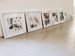 #sold #boom #allofthem #nubauer #worksonpaper #eraser #artist #emergingartist #art #contemporaryart #exhibition #figurativeart #vienna #london #ny #la #moscow...