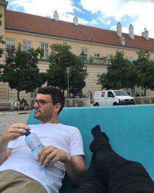 When in Vienna 2: Middagshvil i #museumsquartier MQ – MuseumsQuartier Wien