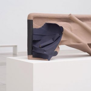 The american artist #vincentfecteau fashions complex objects out of everyday staples like papier-mâché, ...