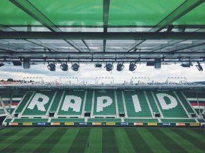 nice view 👓 #rapid #arbeit #oben Allianz Stadion