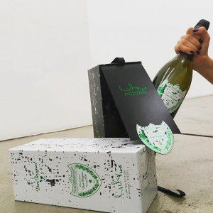 POP , FIZZ, CLINK! Michael Riedel x Dom Pérignon #MichaelRiedel #DomPérignon #DomPérignonXMichaelRiedel #Champagne #zeitgenössischeKunst #contemporaryart #Schleifmühlgasse #art...