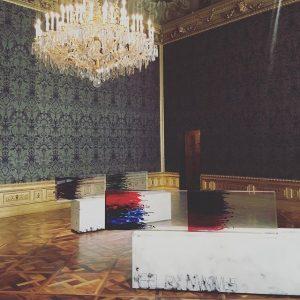 Sterling Ruby always winning 👌🏻 Acts / Reflex Maximus, 2016 ✖️ #vienna #contemporaryart #sterlingruby #winterpalais Winter Palace...