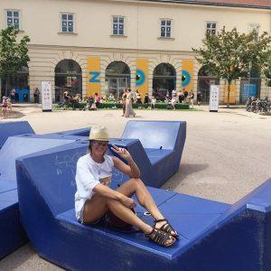#vienna#mqmuseum#art#museum#passionfortravel MQ – MuseumsQuartier Wien