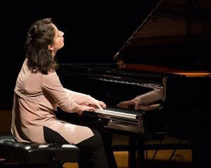 Sophiko Simsive, winner of the pianist prize ISA16 of the University for Music and Performing Arts Vienna...