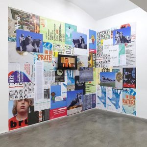 Nice! Our brut posters are part of an installation by Brasilian artist Maria Thereza Alves. The installation...