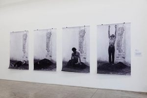 Installationshot of our new Show - Elias Adasme, La Auracana 81, 1981, 4 phtographs, each 174 x...