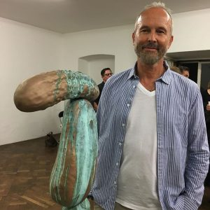 Erwin Wurm who will represent Austria at the Venice Biennial 2017 with
