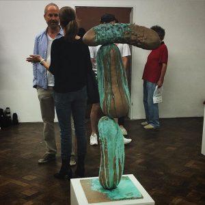 Meister Erwin #Wurm und sein Werk bei der Ausstellung