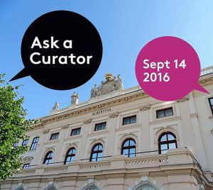 We're in! Chief curator Christof Metzger is going to answer all your questions on museums & the...