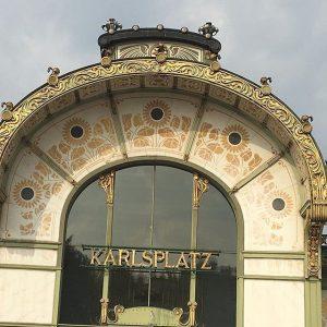 Jugendstil in Wien! Ich finde es wunderschön ! Schönen #Montag weiterhin! Und einen angenehmen Abend;wünsche ich! Sophie...