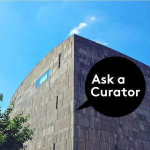 Ever had a question about working in a museum? Today is your day – #AskACurator and you'll...