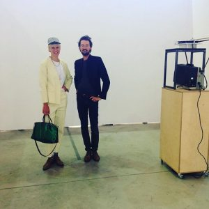 #amazing #artists @philippfleischmann and marusa sagadin looking #fabulous @viennacontemporary