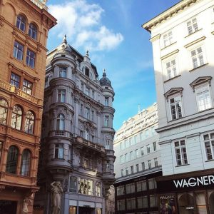 #architecture #vienna Julius Meinl am Graben