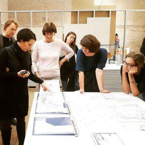 #Mitarbeiterführung mit Kuratorin Karoline Mayer #intheend #amendearchitektur #guidedtour #exhibition #staff Az W Architekturzentrum Wien