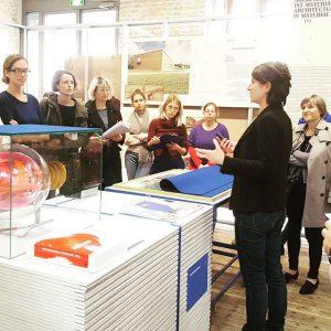 Mitarbeiterführung mit Kuratorin Katharina Ritter #amendearchitektur #intheend #staff #guidedtour #curators