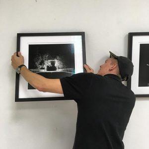 Unser Freund Robert Altermoser ist nun mit seiner Ausstellung