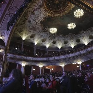 Full house ❤️ thank you! #TEDxVienna #outthere TEDxVienna