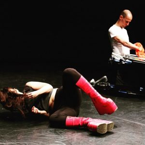 DORIS UHLICH & MICHAEL TURINSKY PREMIERE #dance #body #techno #performance #energy #rave #brutwien ...