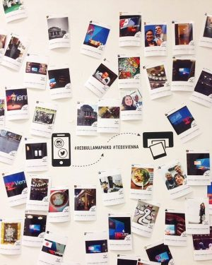 During this year's event you were able to print all your amazing Instagram pictures that were tagged...