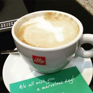 Good morning from #vienna & have a marvelous day! Love all the little touches at @lemeridienvienna #travel...