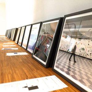 #InstagramNow our new exhibition opening tomorrow #sketchbooks #diaries #portfolios feat. @alexruthner @josip_novosel @josefinarnell @judithrhrmoser @rade_petrasevic @tamunasirbiladze @nafets_reretier...