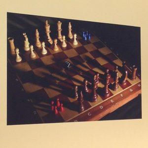 #seekingbeautyQ21 pic submitted by White Castle Games @mqwien #viennaartweek #viennaartweek2016 #seekingbeauty #chess #gamerlife #aleaiactaest Q21