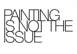 """Einer unserer heutigen Tagestipps: Kuratorenführung mit Felicitas Thun-Hohenstein durch die Ausstellung """"Painting Is Not The Issue"""" im..."""