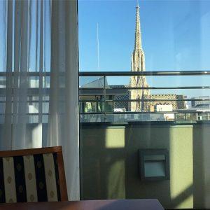 There's no better view 😊 #hotelambassadorvienna #theplacetobe Hotel Ambassador Vienna