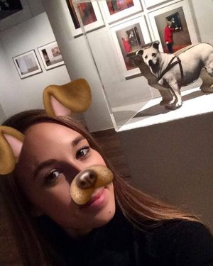 Nights at the museum: When you become a dog yourself with all those dogs around;-) Late night...