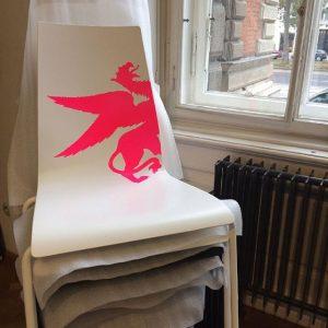 15 Jahre #garcia #stuhl für's MAK. Design: #martinmostböck gefertigt von #braunlockenhaus