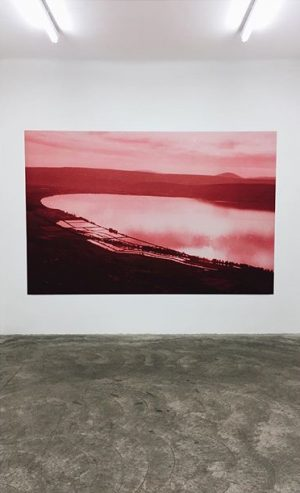Sharon Ya'ari, The Sea of Galilee 1969 (2016) #photography #art #vienna #wien Galerie Martin Janda